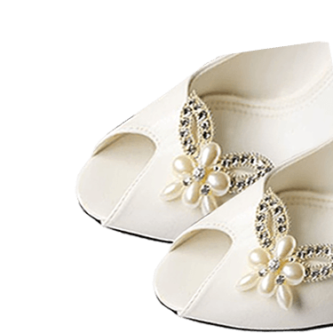 Bridal Shoe Clips
