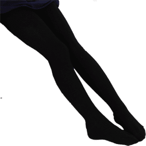 black cotton tights