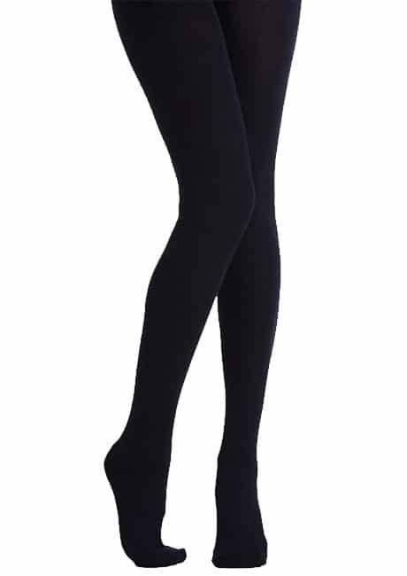 Black Cotton Tights for School Girls and Toddlers