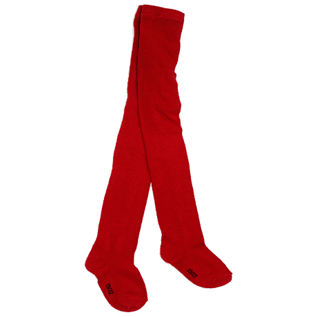 Red Cotton Tights