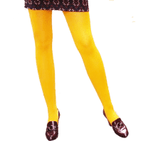 Cotton Tights – Yellow