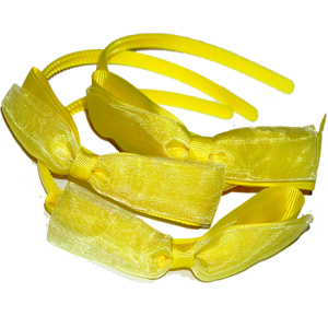 yellow alice bands