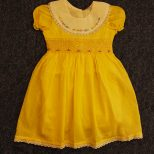 Yellow Smocked Dresses for Girls