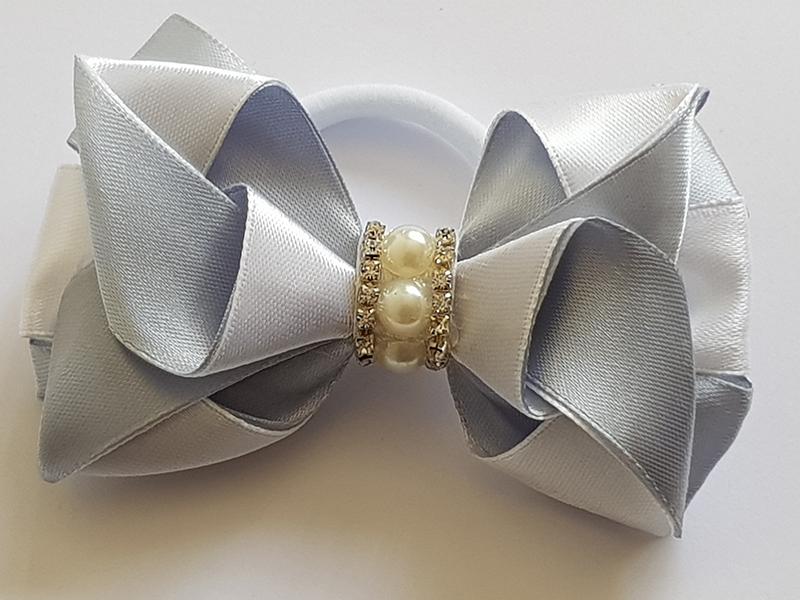 Hair Clip – Silver Grey