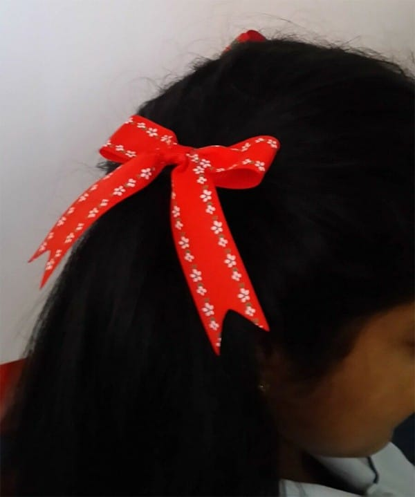 Ponytail Hair Bow