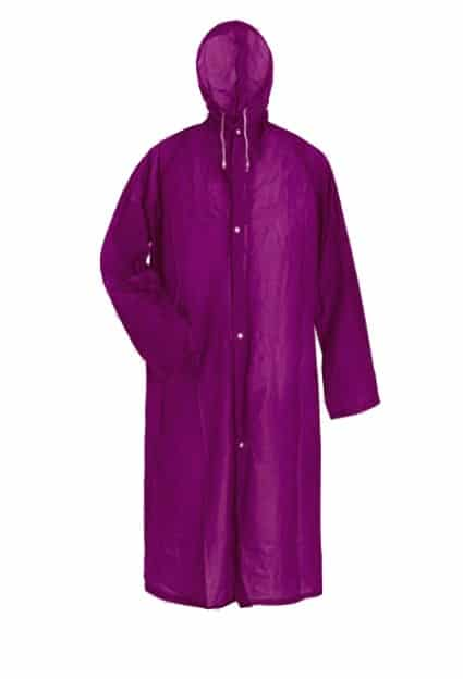 Raincoat – Purple