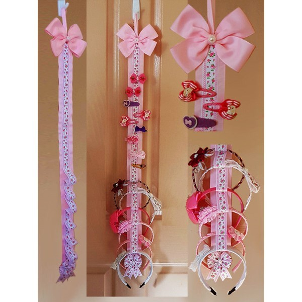 Hair Bow Holder Headband Organiser
