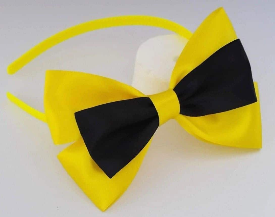 Emma Wiggle Headband and Shoe Clip Combo set