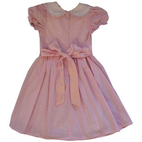 Pink Party Frock Back