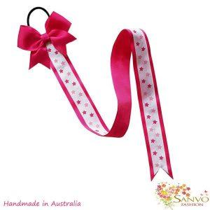 Hair bow clip organiser Dark Pink.jpg