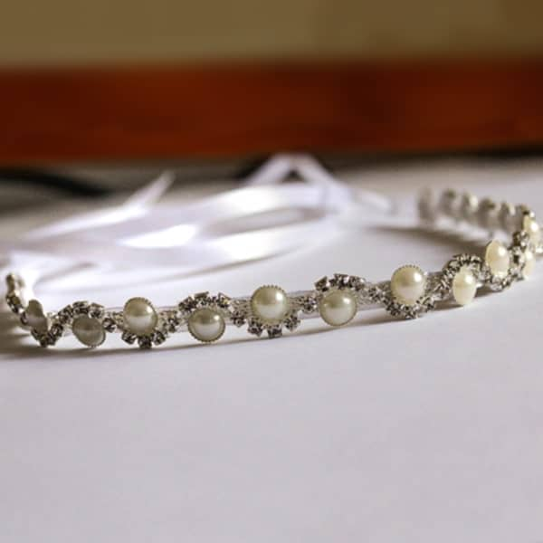 Crystal beaded headband