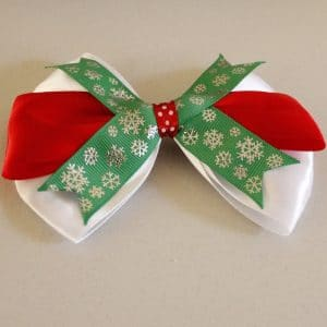 Christmas Winter Bow