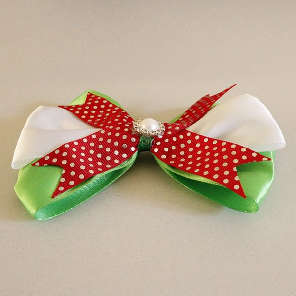 Beautiful Christmas Hair Clip