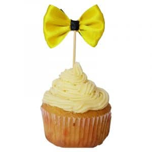 Emma Wiggle Bow Cup Cake Toppers