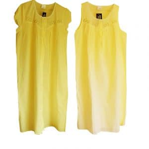 cotton nightdress Yellow